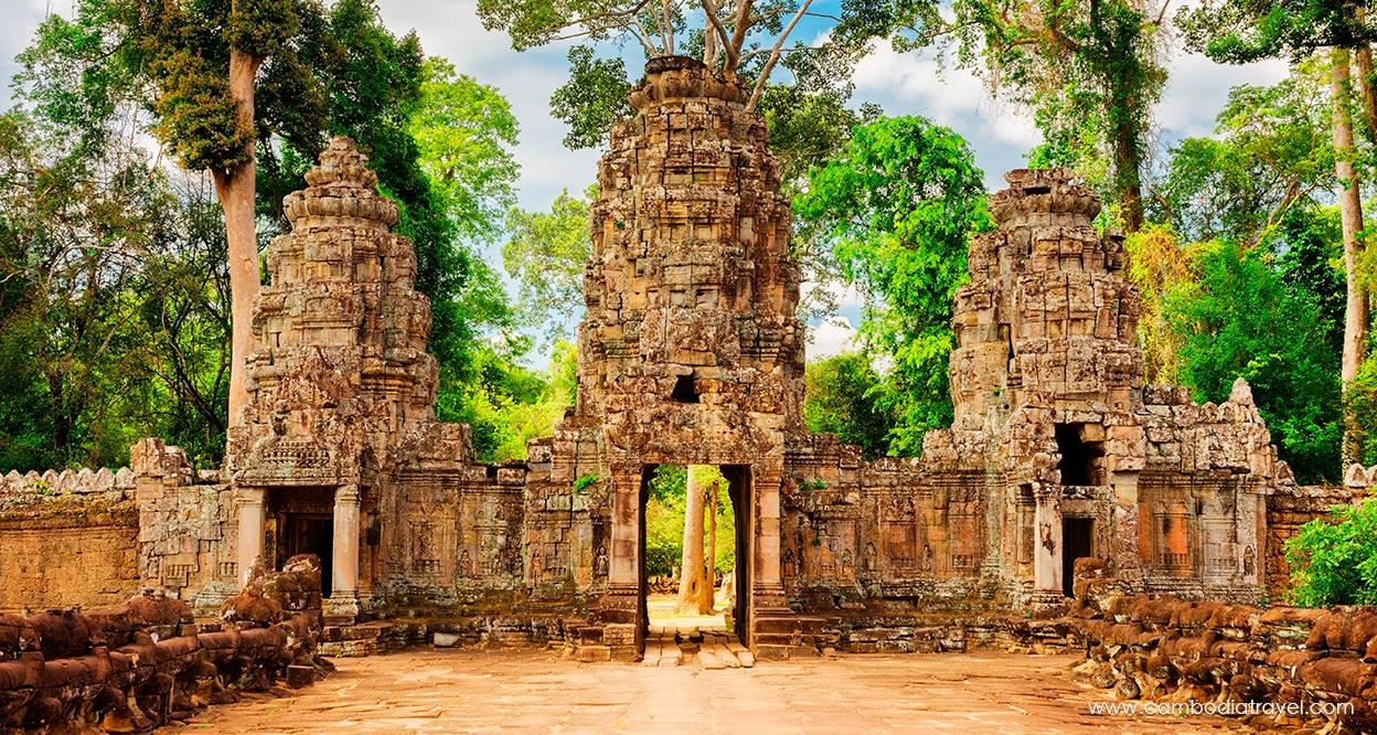 Cambodia-Siem-Reap-Preah-Khan-(Sacred-Sword)-2