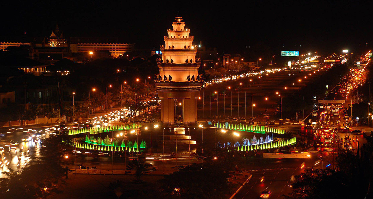 Admice Phnom Penh At Night is the best things to do in Cambodia