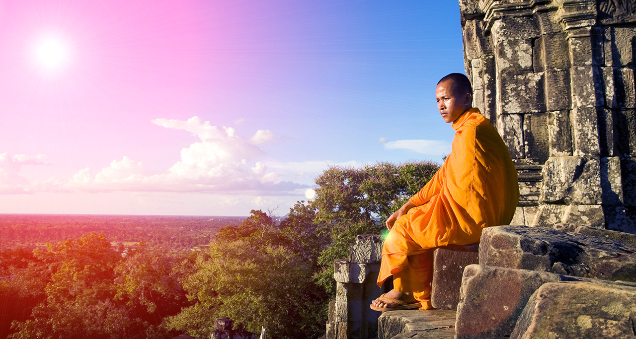 Phnom Krom is an off the beaten path sunset viewpoint.