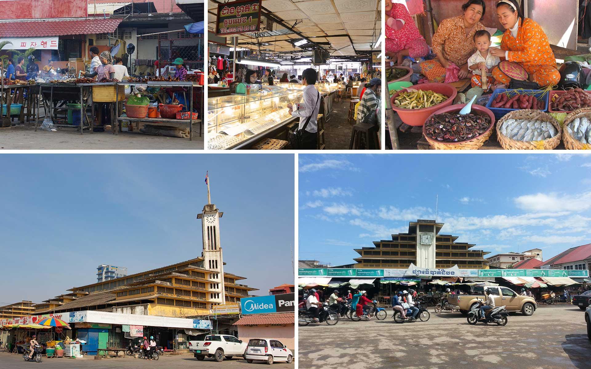 Central Market in Battambang