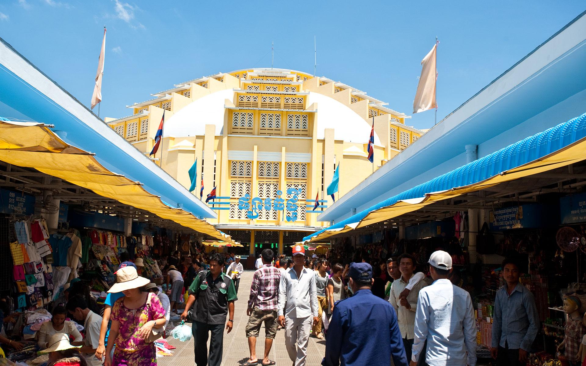 Central Market cambodia