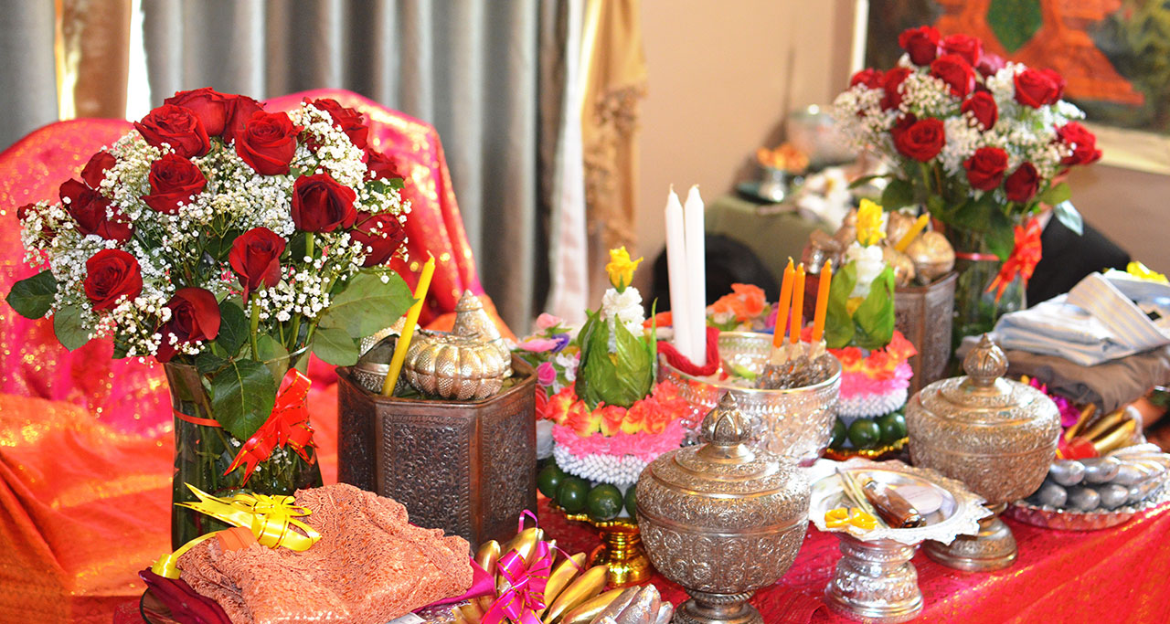 Dower is prepared by the groom and his family, in response to his parents-in-law's requests.