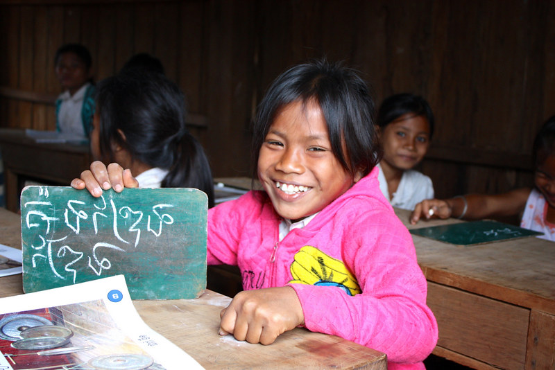 Khmer (also known as Cambodian Language) is the single official language in Cambodia.