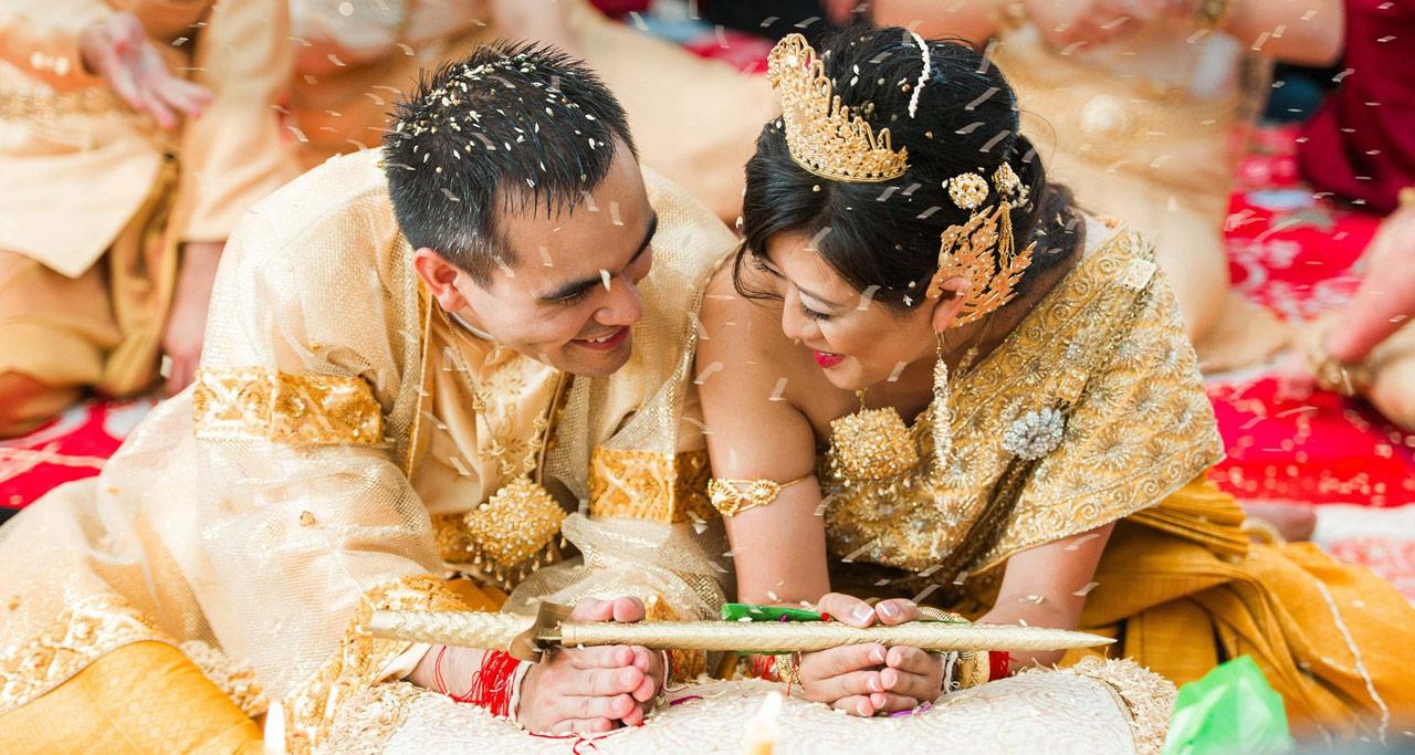 Wedding Ceremony in Cambodia