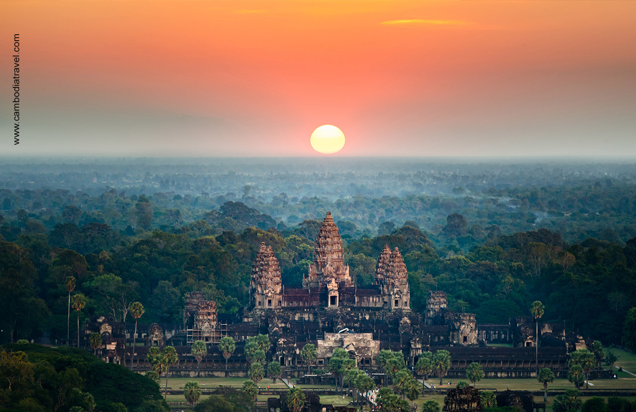 "Angkor Wat is a ""Hindu-Buddhist"" temple and best preserved within Angkor Area."