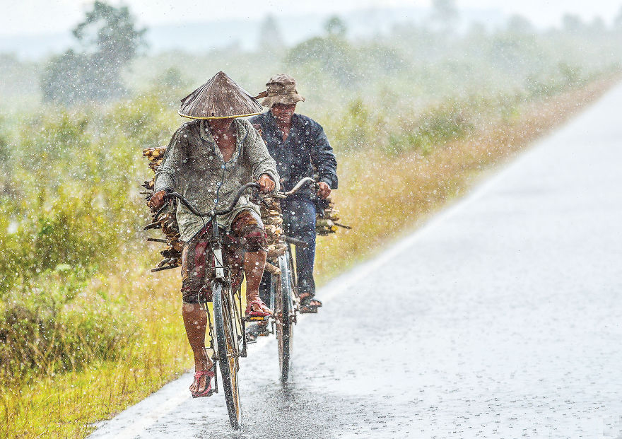 Wet season in Cambodia is characterized by heavy rains and high humidity.
