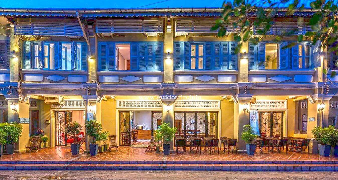 The Columns Hotel was originally built as a set of shophouses when Cambodia was a French colony.