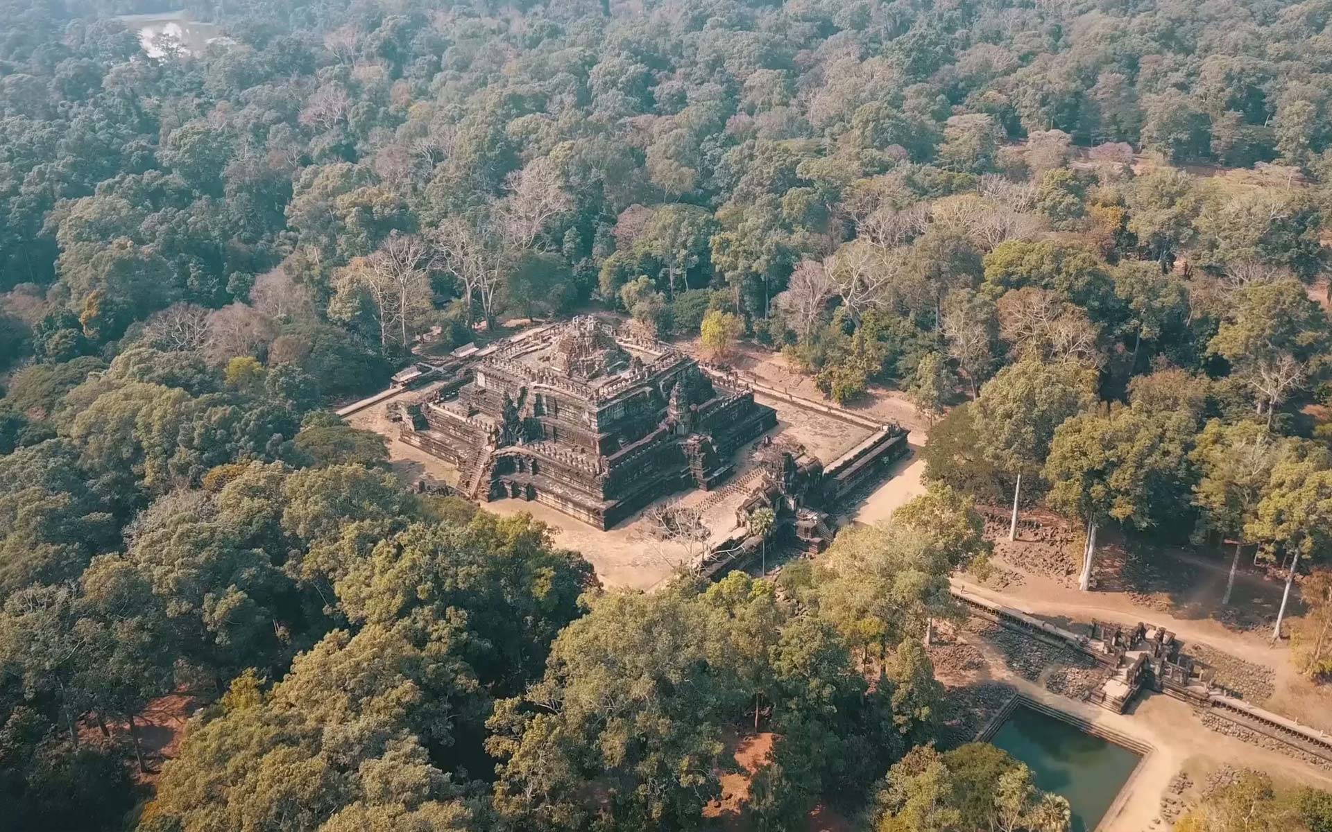 Bayon Temple from above