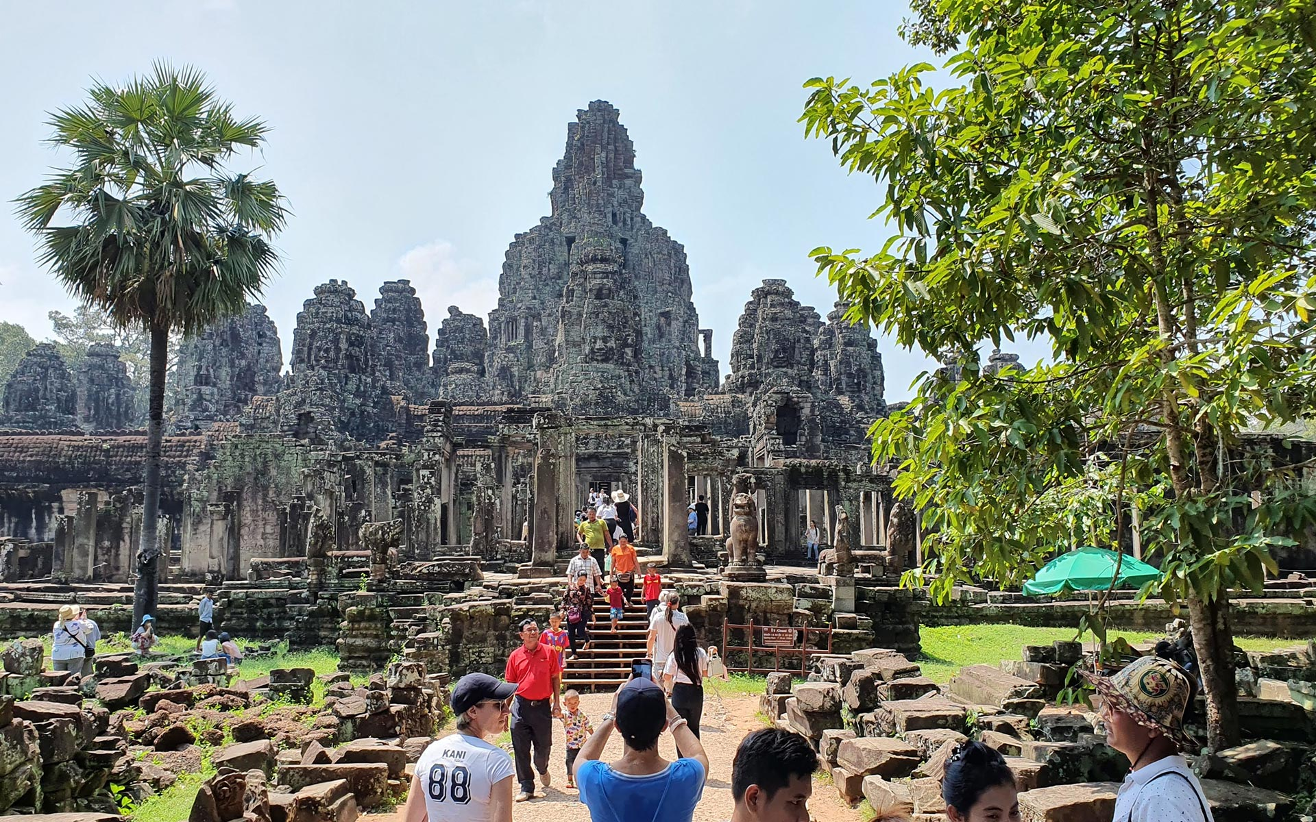 Best time to visit Bayon Temple