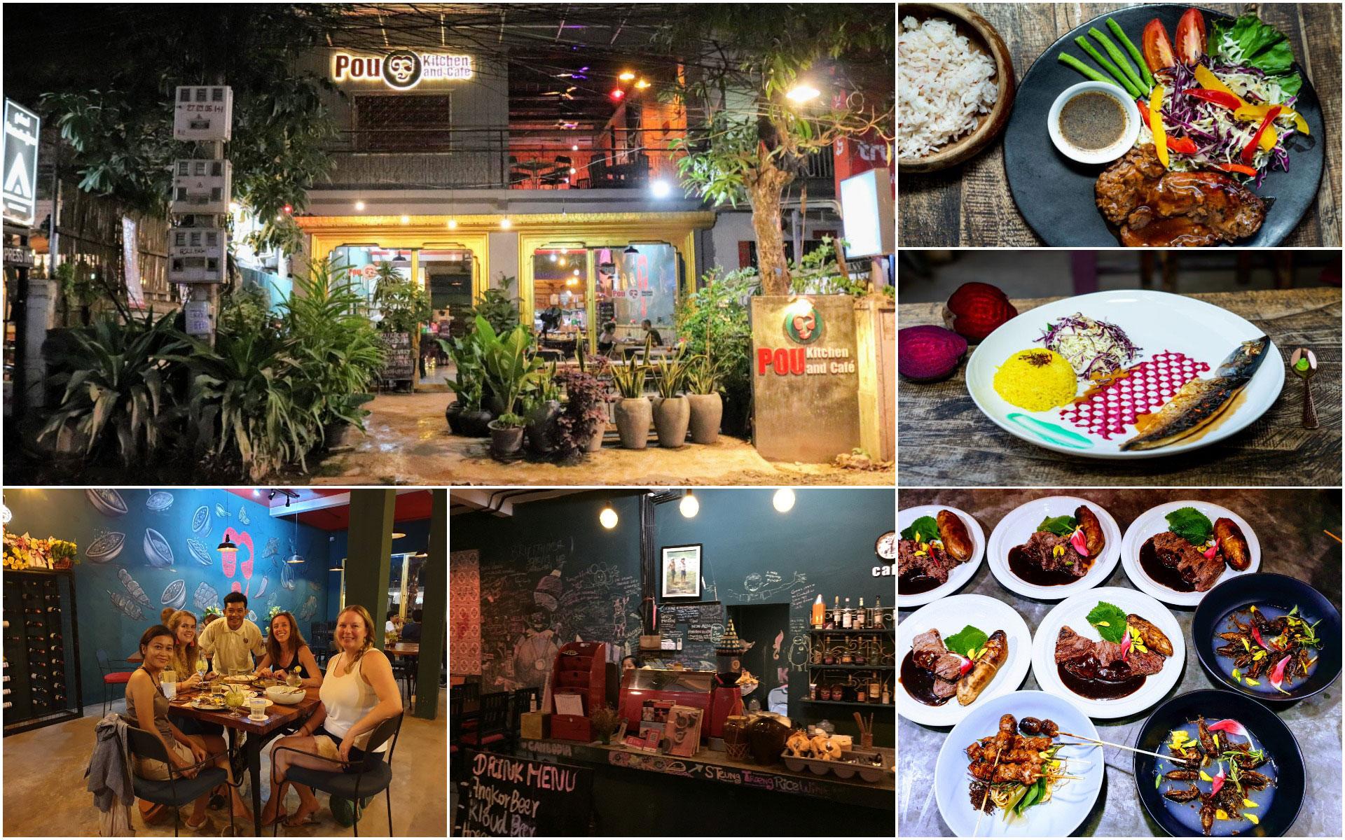 Pou Kitchen and Cafe siem reap