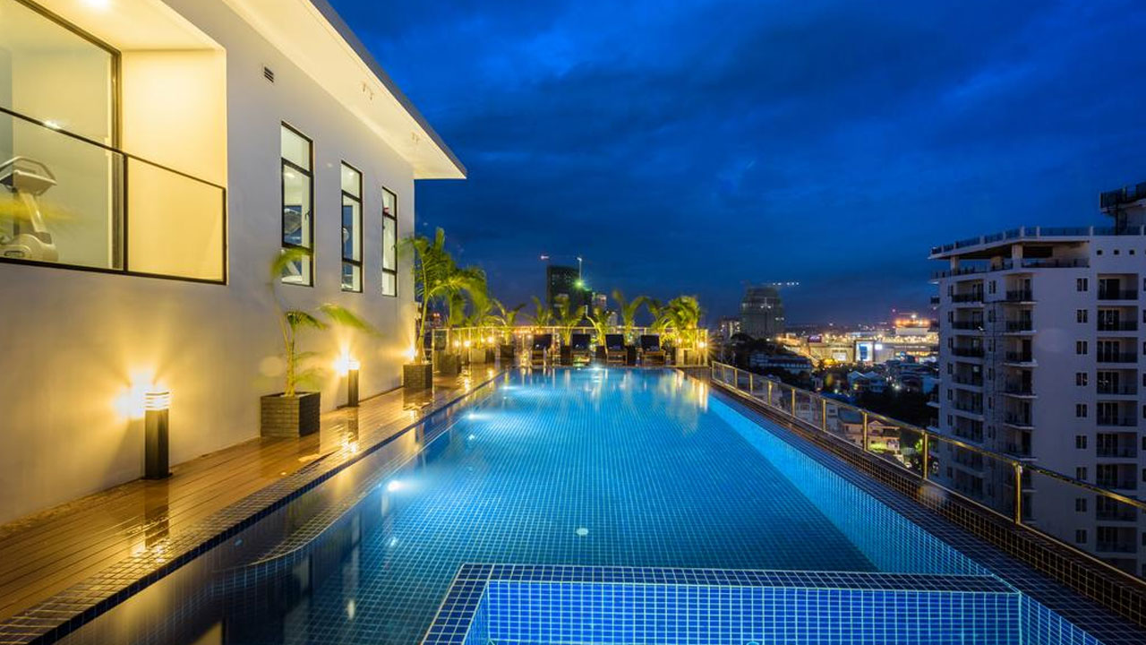 One Residence Hotel & Apartment in BKK1 area.