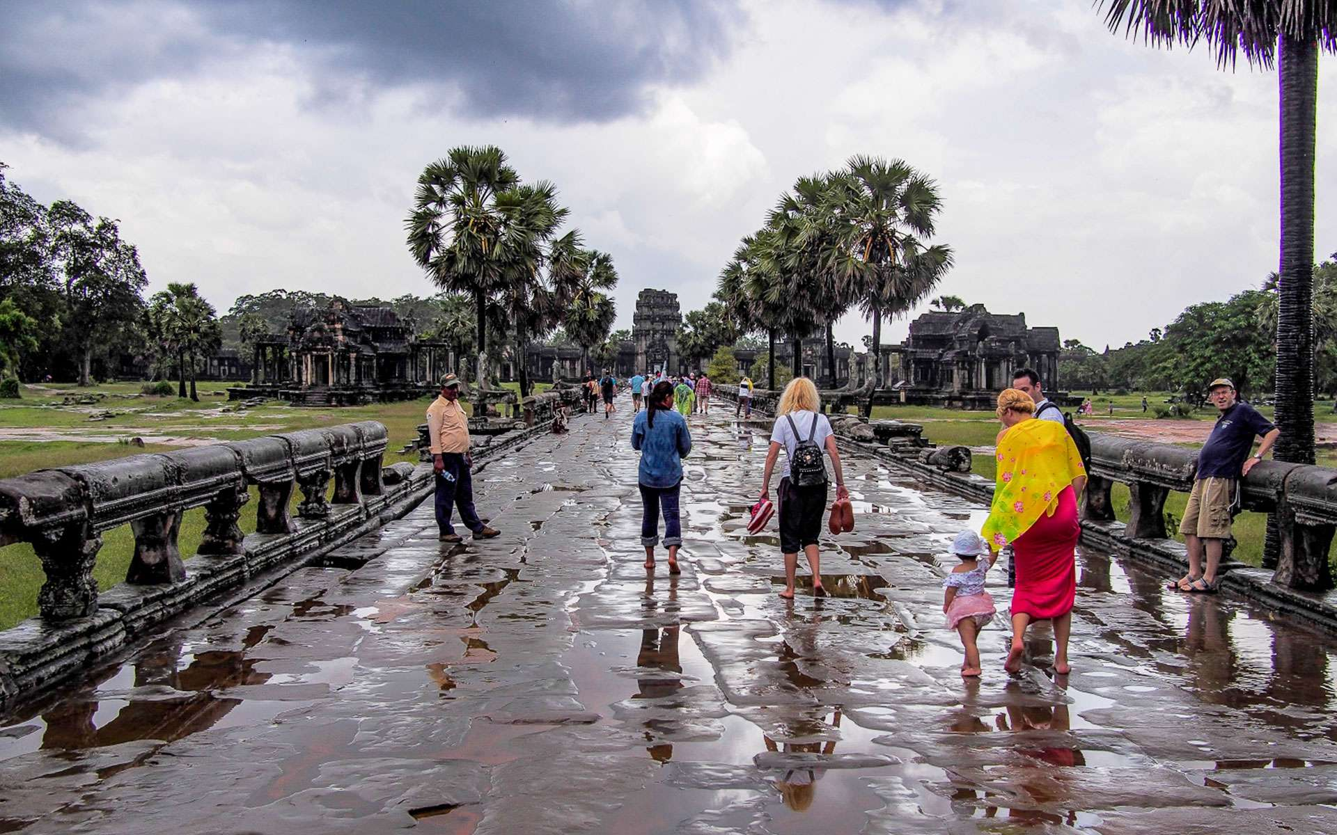 rainfall typically comes in Cambodia in July