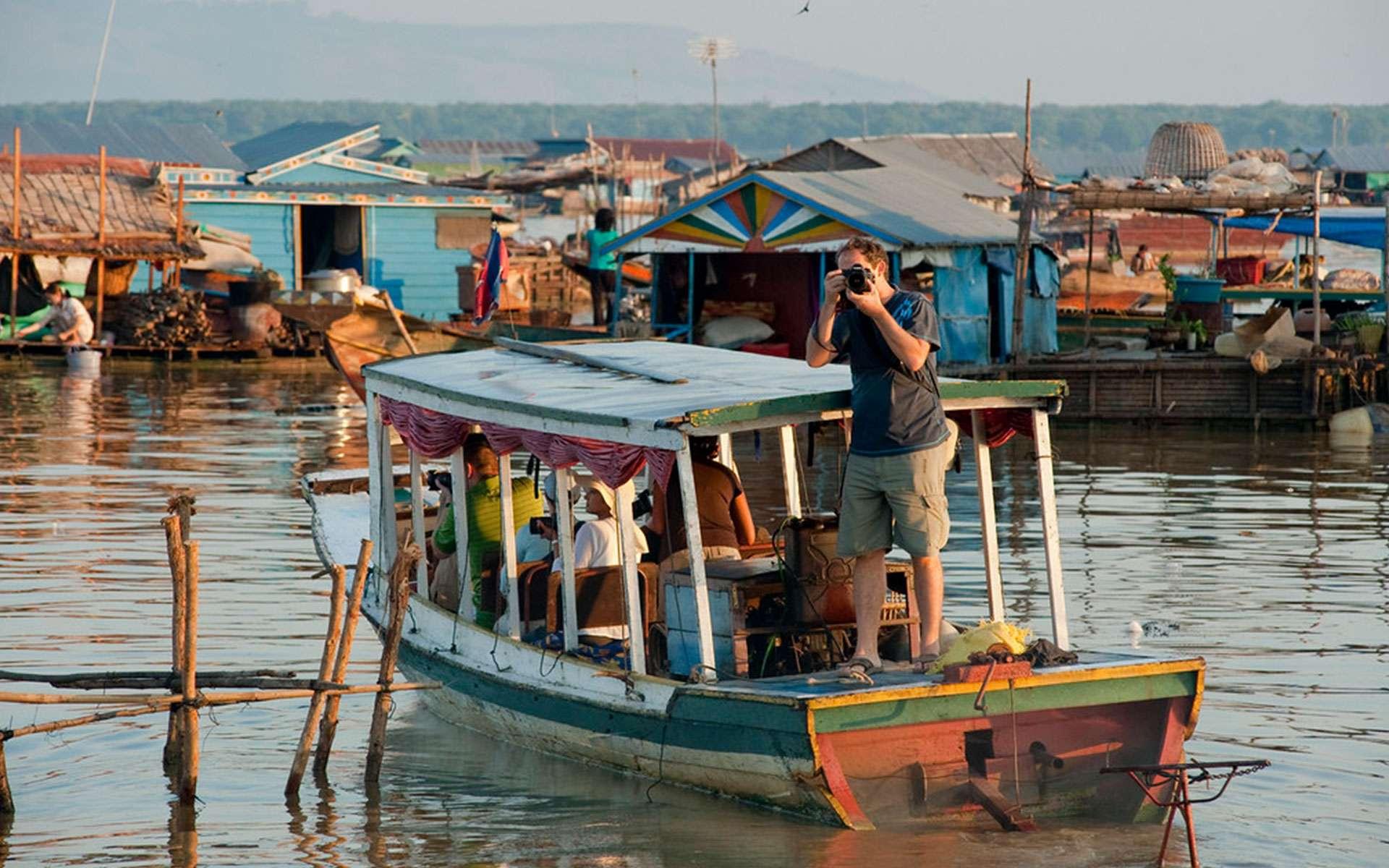 visit Tonle Sap Lake in September